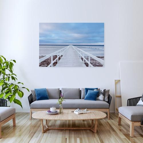 Art Illusions The Jetty Canvas Wall Art by Jacek Oleksinski