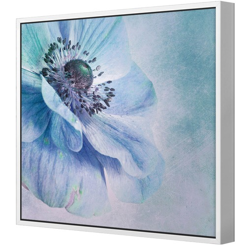 Art Illusions Shades of Blue Canvas Wall Art by Priska Wettstein