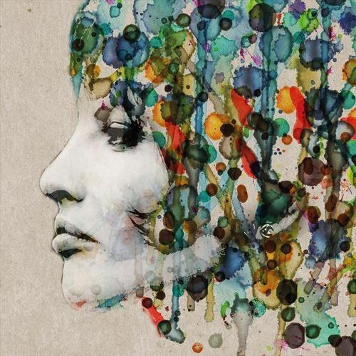 Art Illusions Abstract Hair Canvas Print