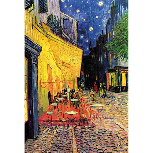 Art Illusions The Cafe Terrace - Van Gogh