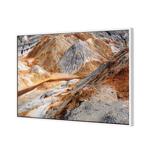 Art Illusions Rugged Canyon Canvas Wall Art