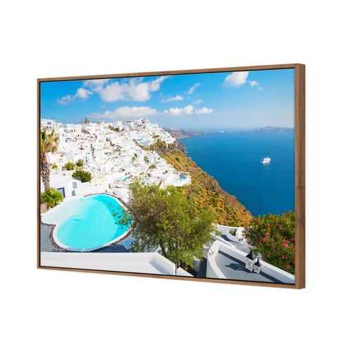 Art Illusions Greek Panorama Canvas Wall Art