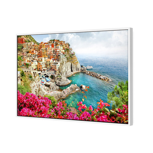 Art Illusions Cinque Terre Italy Canvas Wall Art