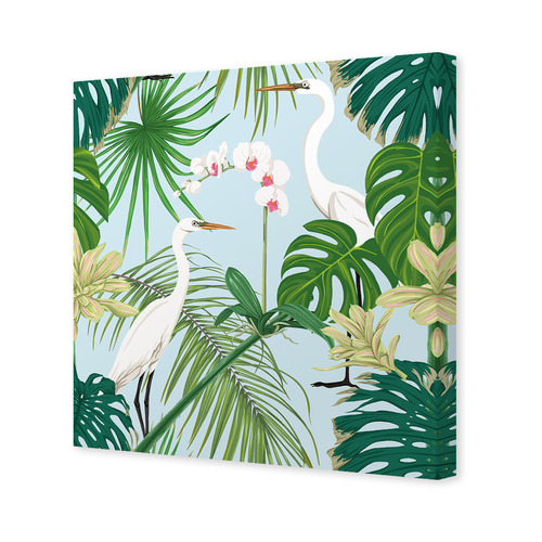 Art Illusions Tropical Orchids 1 Canvas Wall Art