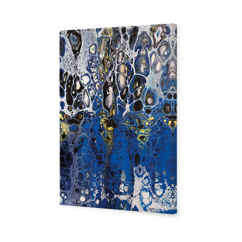 Art Illusions Blue Jade Dream Canvas Wall Art