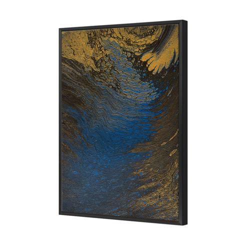 Art Illusions Moonlight Ripple Canvas Wall Art by Jacqui G