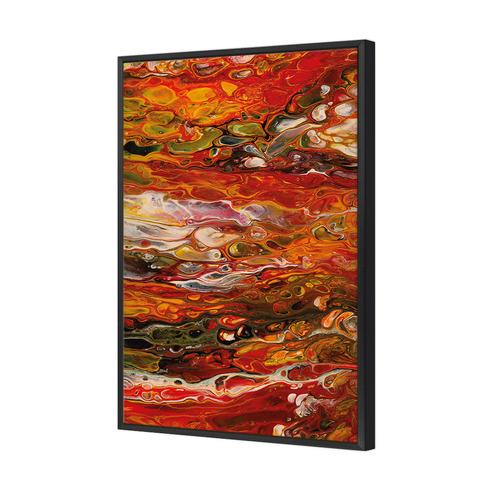 Art Illusions Phoenix Flow Canvas Wall Art by Jacqui G