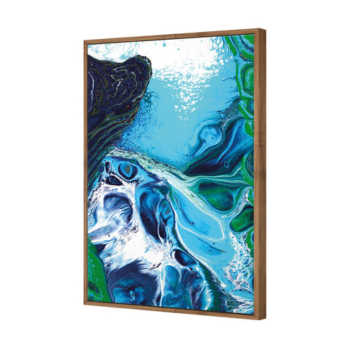 Art Illusions Vivid Time To Surface Canvas Wall Art