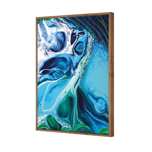Art Illusions Vivid Time To Surface Splice Canvas Wall Art