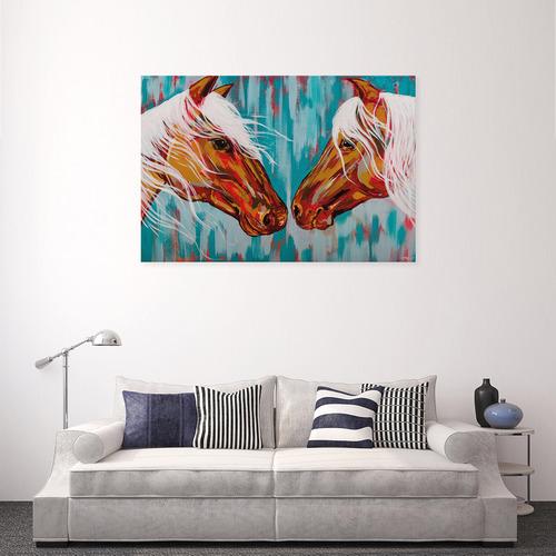 Art Illusions Wild Horses Canvas Wall Art