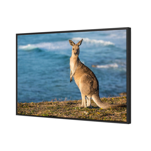 Art Illusions Emerald Beach II Canvas Wall Art
