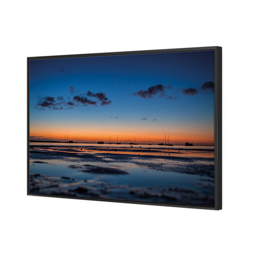 Art Illusions Stradbroke Island Dusk Canvas Wall Art