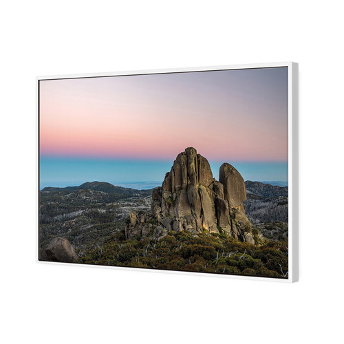 Art Illusions Mount Buffalo Dawn Canvas Wall Art