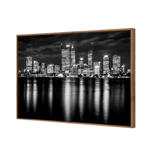 Art Illusions Perth Skyline II Canvas Wall Art
