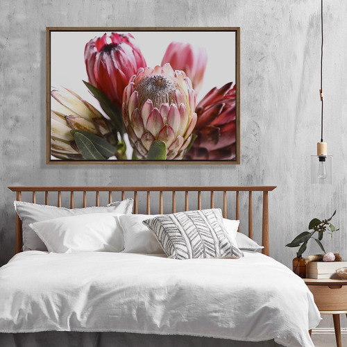 Art Illusions Protea Canvas Wall Art