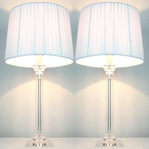 Kloe Lighting Laura Tapered Drum Table Lamp