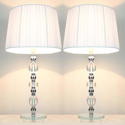 Kloe Lighting Daphne Ribbon Shade Table Lamp