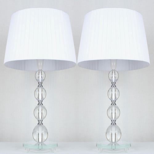 Iris Ribbon Shade Table Lamp