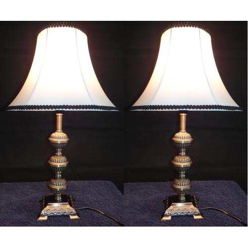 Kloe Lighting Primrose Table Lamp With Black Rim
