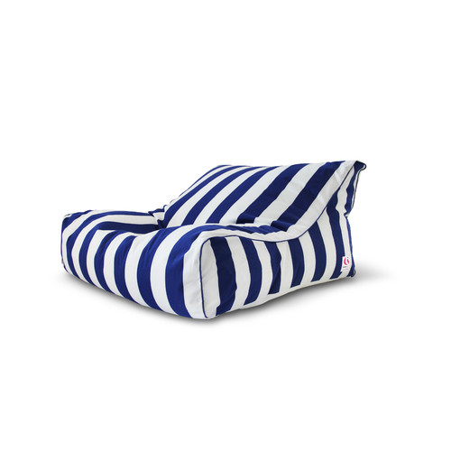Indosoul Torres Del Striped Double Lounger Outdoor Beanbag Cover