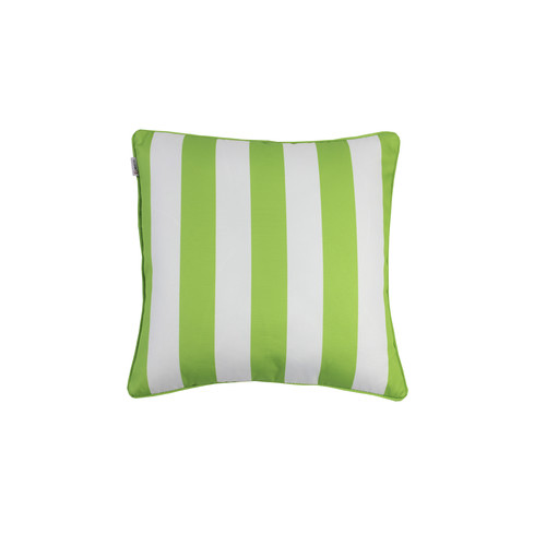 Indosoul White Striped Outdoor Cushion