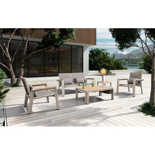 Indosoul Geneva 5 Piece Outdoor Lounge Setting