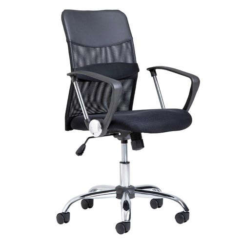 milan direct medium back mesh ergonomic office chair & reviews