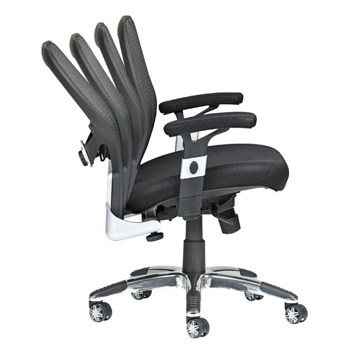 milan direct deluxe low back mesh ergonomic office chair & reviews