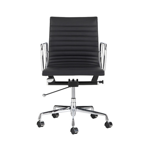 milan direct replica eames executive office. milan direct eames leather replica management office chair executive e