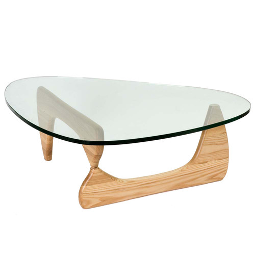 direct premium replica coffee table noguchi american walnut base only isamu