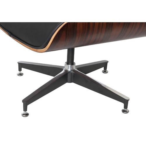 Milan Direct Eames Premium Replica Lounge Chair & Ottoman