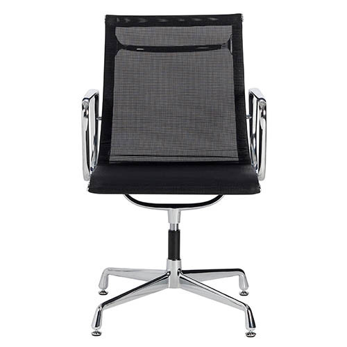 Milan direct eames replica mesh aluminium visitor office for Eames alu chair replica