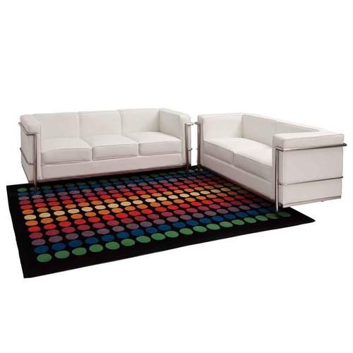 Milan Direct Le Corbusier Replica LC2 2 Seater Sofa