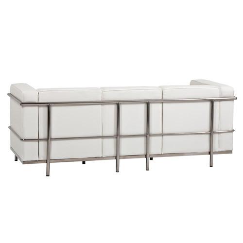 Milan Direct Le Corbusier Replica LC2 3 Seater Sofa