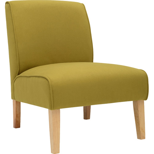 Milan Direct Chartreuse Zoe Accent Lounge Chair