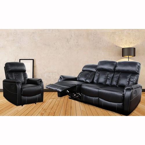 Milan Direct Miami Recliner Sofa Set