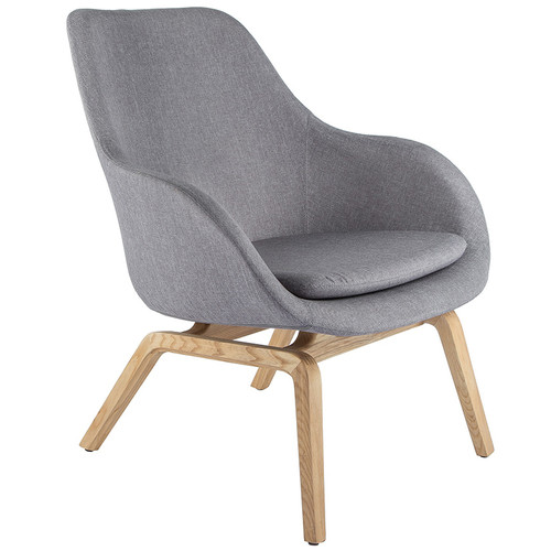 Milan Direct Grey Finley Armchair