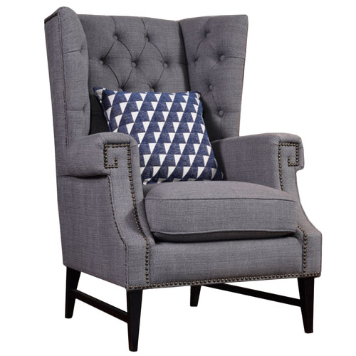milan direct maxwell wingback chair