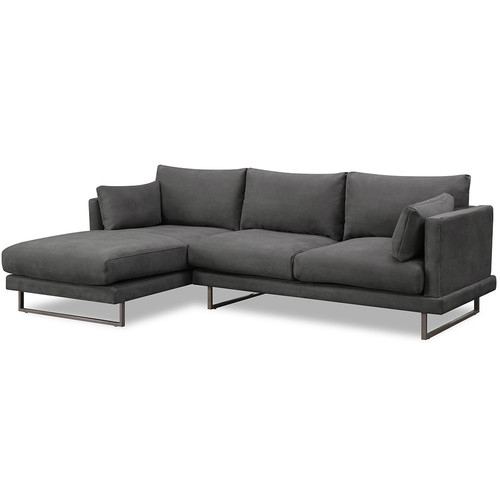 Temple & Webster Zanda L-Shaped Sofa