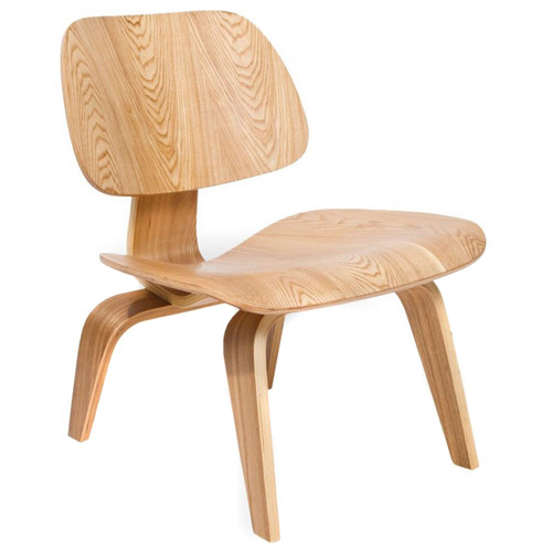 Milan Direct Eames Replica Plywood Lounge Chair