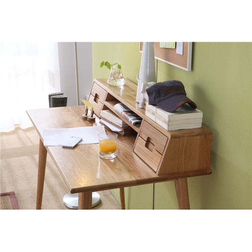 Temple & Webster Oscar Oak Scandinavian Style Desk