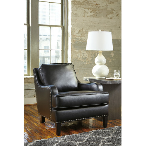 Ashley Furniture Black Bronx Arm Chair