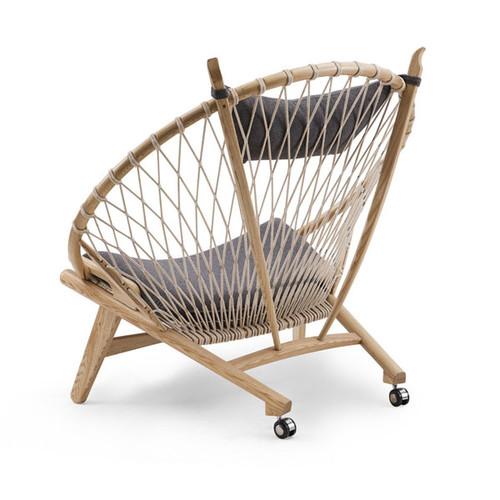 Milan Direct Hans Wegner Replica Circle Armchair