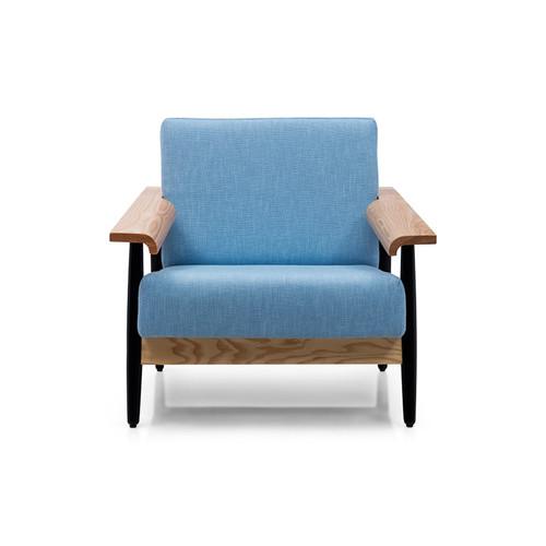 Milan Direct Blue Elsa Armchair