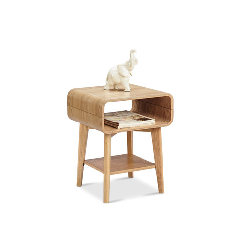 Milan Direct Ash Riva Side Table