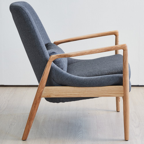 Temple & Webster Modern Lucas Armchair