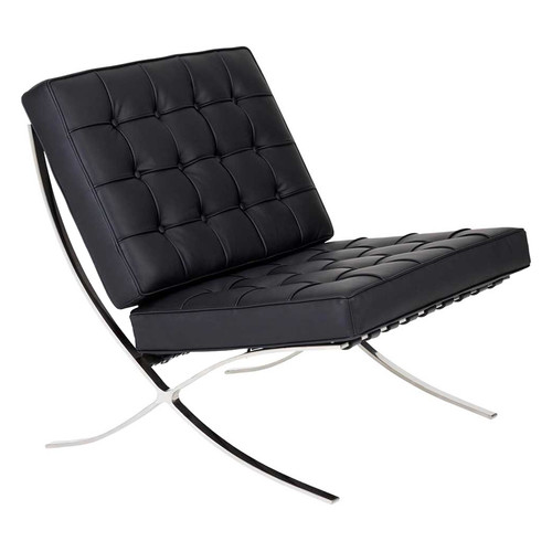 Mies van der rohe classic replica barcelona chair temple for Mies van der rohe replica