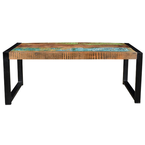 Deon Industrial Coffee Table: Toulouse Industrial Coffee Table