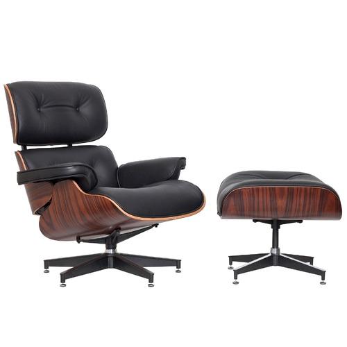 Milan Direct Eames Classic Replica Lounge Chair U0026amp; Ottoman