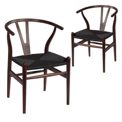 milan direct walnut u0026amp black hans wegner replica wishbone chair